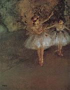 Two dancer, Edgar Degas