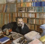 Portrait of Edmond Duranty, Edgar Degas