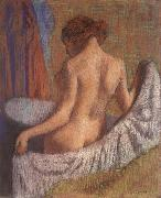 After the Bath,woman witl a towel, Edgar Degas