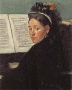 Mlle Dihau at the Piano, Edgar Degas