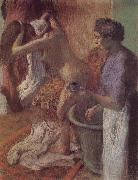 Edgar Degas The breakfast after bath oil painting on canvas