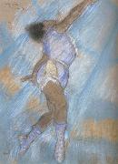 Preparatory drawing for Miss La La at the cirque Fernando, Edgar Degas
