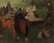 On the Racecourse, Edgar Degas
