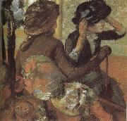 Edgar Degas In  the Store oil painting on canvas