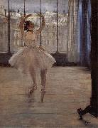 Dancer in ther front of Photographer, Edgar Degas