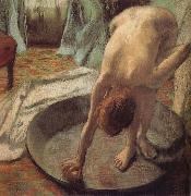 Tub, Edgar Degas
