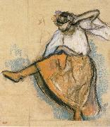 Russian Dancer, Edgar Degas