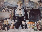 A bar at the folies-bergere, Edouard Manet