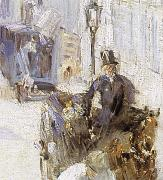 Detail of Roadman on Belli Road, Edouard Manet