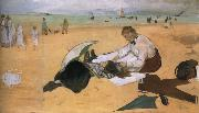 On the beach,Boulogne-sur-Mer