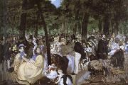 Edouard Manet The Concert oil painting reproduction