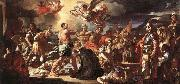 Francesco Solimena The Martyrdom of Sts Placidus and Flavia oil painting