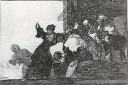 Francisco Goya Working proof for Poor folly oil painting reproduction