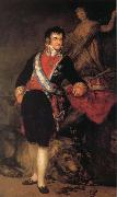 Francisco Goya Ferdinand VII oil painting reproduction