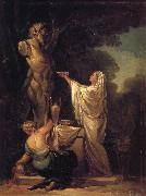 Francisco Goya Sacrifice to Pan oil painting on canvas