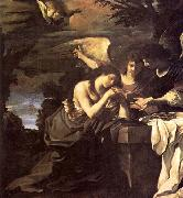 Magdalen and Two Angels, GUERCINO