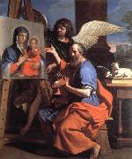 St Luke Displaying a Painting of the Virgin, GUERCINO