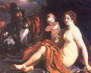 Venus, Mars and Cupid, GUERCINO
