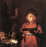 Young Man with a Candle