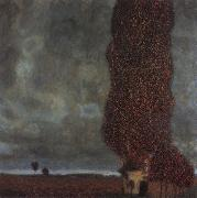 The Large poplar, Gustav Klimt