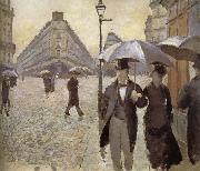 Rainy day in Paris, Gustave Caillebotte