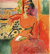 Henri Matisse Woman in the front of window oil painting reproduction
