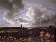 Extensive Landscape with a Ruined, Jacob van Ruisdael