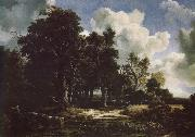 Edge of a Forest with a grainfield, Jacob van Ruisdael