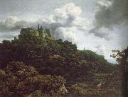 Jacob van Ruisdael Bentheim Castle oil painting reproduction