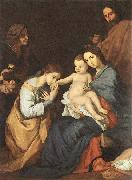 Jusepe de Ribera The Holy Family with St Catherine oil painting