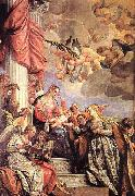 The Marriage of St Catherine, Paolo  Veronese