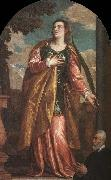 St. Lucy and a Donor, Paolo  Veronese