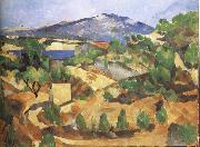 Paul Cezanne The Mountain oil painting reproduction