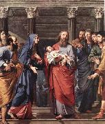 Philippe de Champaigne The Presentation of the Temple oil painting