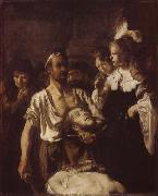 REMBRANDT Harmenszoon van Rijn The Beheading of John the Baptist oil painting reproduction