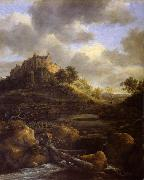 REMBRANDT Harmenszoon van Rijn Bentheim Castle oil painting reproduction