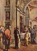 SCOREL, Jan van Presentation of Jesus in the Temple oil painting