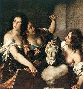 Allegory of Arts, STROZZI, Bernardo