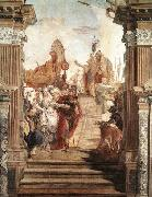 The Meeting of Anthony and Cleopatra, TIEPOLO, Giovanni Domenico