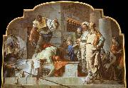 TIEPOLO, Giovanni Domenico The Beheading of John the Baptist oil painting reproduction