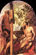 St Jerome and St Andrew, Tintoretto