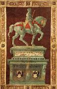 UCCELLO, Paolo Funerary Monument to Sir John Hawkwood oil painting reproduction
