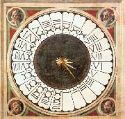 Clock with Heads of Prophets, UCCELLO, Paolo