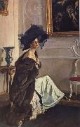 Portrait of the Princess Olga Orlova, Valentin Serov