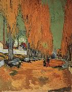 The Alyscamps,Avenue, Vincent Van Gogh