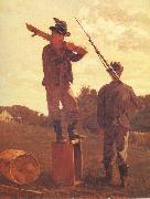 Winslow Homer Punishment for intoxication oil painting reproduction