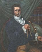 This Portrait of Mackenzie with a am matching in hand emphasize his importance as kartlaggare and upptackare