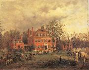 unknow artist The Old Westover Mansion oil painting reproduction