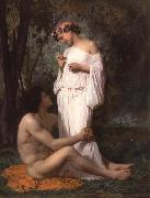 Idyii, Adolphe William Bouguereau