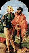 Albrecht Durer Two Musicians oil painting reproduction